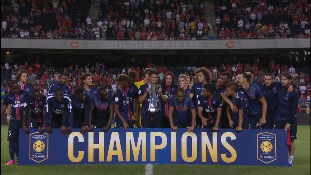 ICC - Le PSG remporte le troph�e