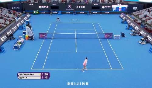 Radwanska Hotshot: WTA Beijing Final