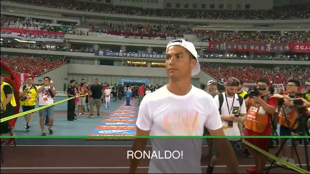 """CSL: Ronaldo: """"Heißester Tag, weil ich da bin"""""""
