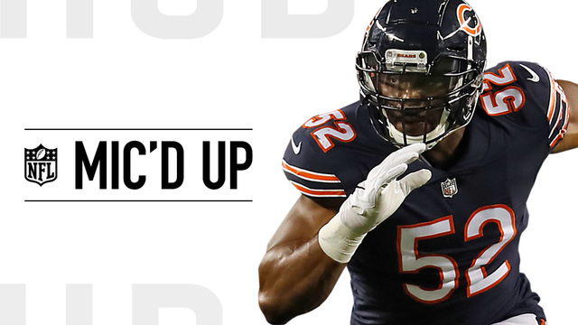 Mic'd Up: Khalil Mack in his home debut with Chicago Bears in Week 2