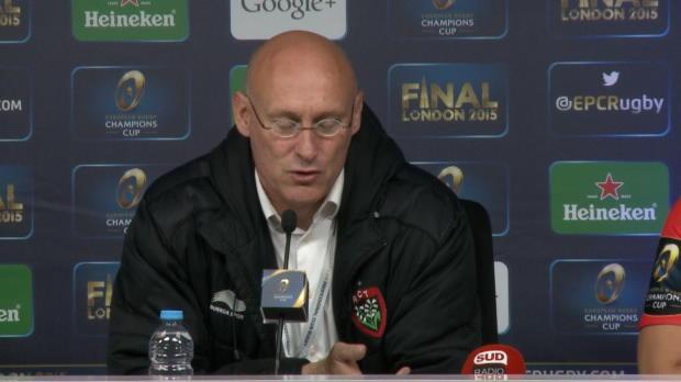 Champions Cup - Laporte - 'Le club entre dans la l�gende'