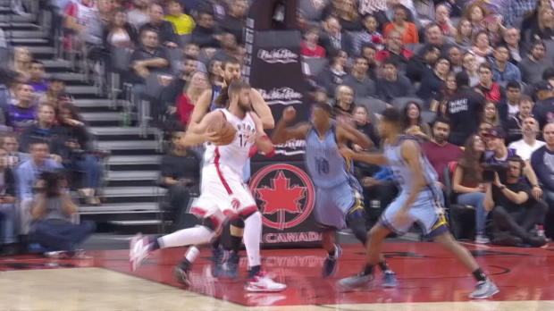 GAME RECAP: Raptors 120, Grizzlies 105