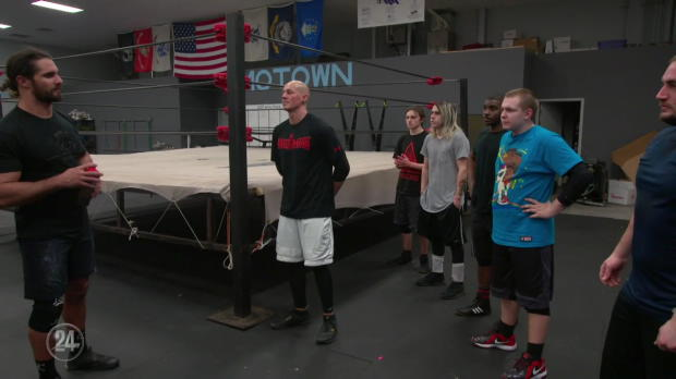 WWE Network: Seth Rollins reflects on his time spent teaching at his wrestling school - WWE 24: Seth Rollins sneak peek