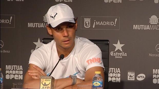 """Madrid: Nadal dank """"bestem Spiel"""" im Finale"""