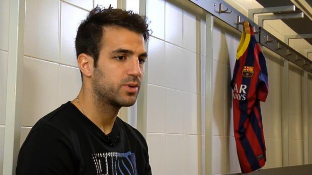 LDC - 8�me de finale, FC Barcelone, Fabregas veut avoir