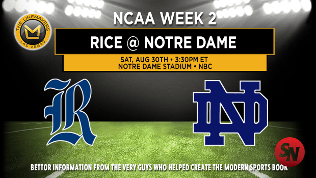 Rice at Notre Dame
