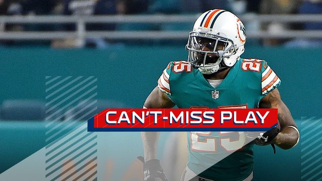 Can't-Miss Play: Xavien Howard outraces Cooks for over-the-shoulder INT