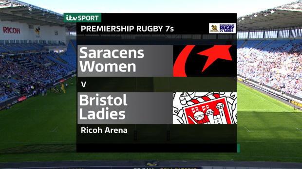 Aviva Premiership - Singha Rugby 7s - Women?s Final - Saracens v Bristol Rugby
