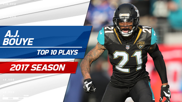 Top 10 A.J. Bouye plays | 2017 season