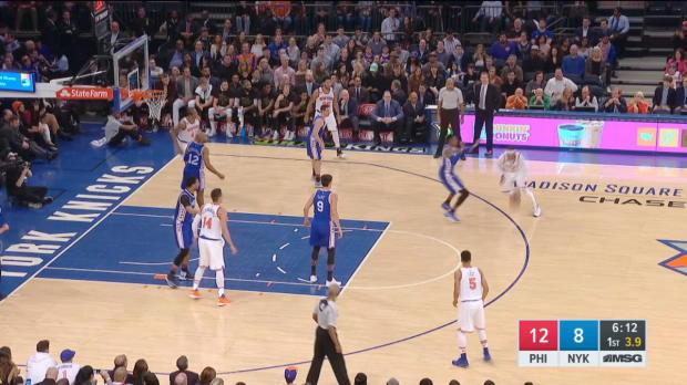 GAME RECAP: Knicks 110, Sixers 109