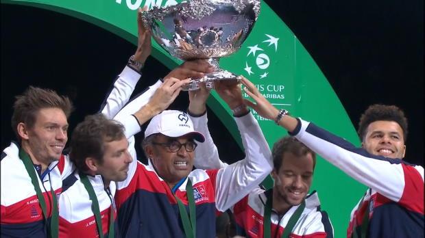 Tennis : Coupe Davis - Pouille offre à la France son 10e Saladier d'argent