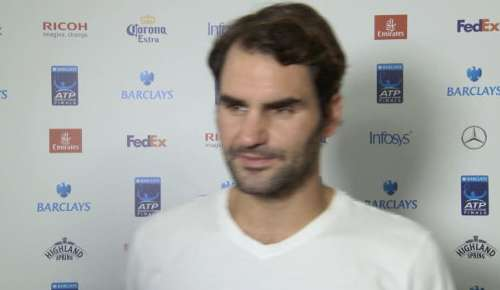Federer Interview: ATP London SF