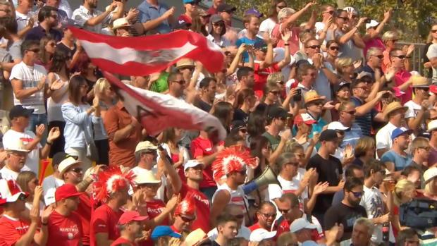 Österreich - Australien: Tag 3