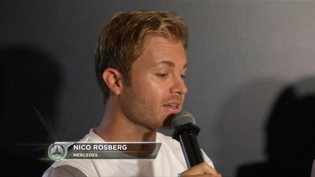 F1 Singapur - Rosberg, encantado con la pista