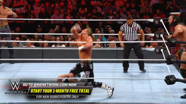 Dolph Ziggler stops Seth Rollins dead in his tracks with a huge DDT: WWE Hell in a Cell 2018 (WWE Network Exclusive)