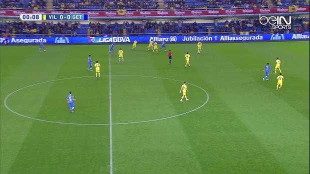 Liga : Villarreal 2-1 Getafe