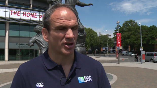 CdM 2015 - Johnson - 'Jouer � Twickenham est un avantage'