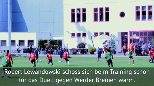 Traumtor! Lewandowski mit Seitfallzieher