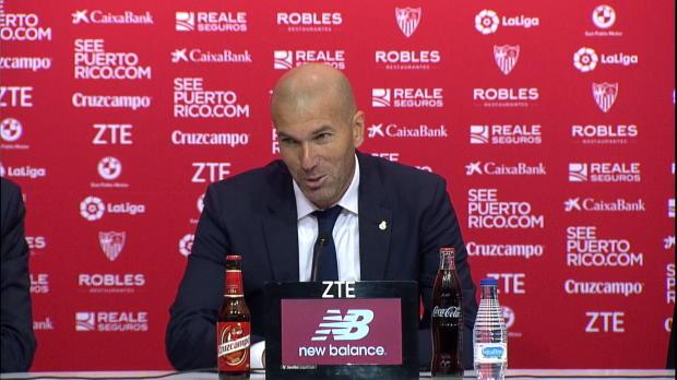 """Zidane: Sevilla? """"Niederlage musste kommen"""""""