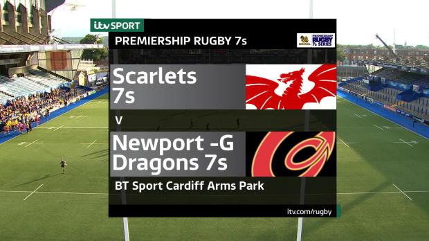 Aviva Premiership - Match Highlights - Newport-G Dragons 7s v Scarlets 7s