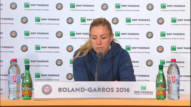 """French Open: Kerber über Aus: """"Kann passieren"""""""