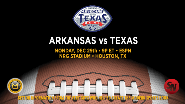 Arkansas Razorbacks vs. Texas Longhorns