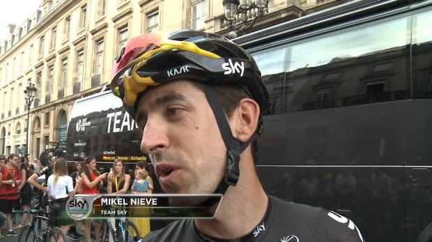 Tour de Francia - Mikel Nieve, encantado con su temporada