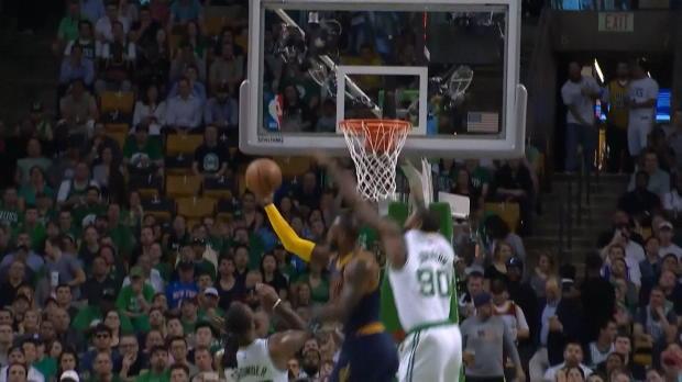 LeBron lidera el triunfo de los Cavaliers ante los Celtics