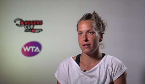 Strycova Interview: WTA Montreal 1R