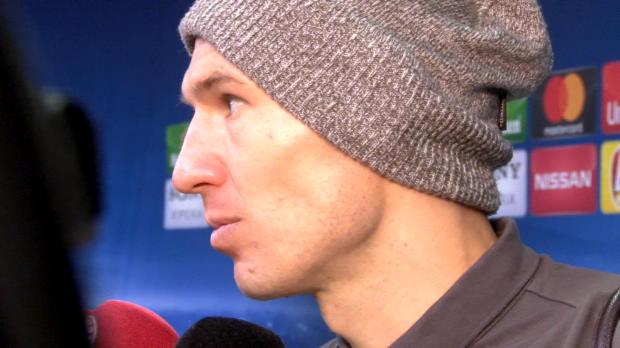 """Robben: Bankplatz? """"War sehr überrascht!"""""""