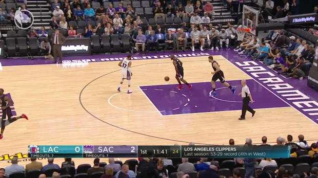 WSC: DeMarcus Cousins with 23 points vs. Clippers