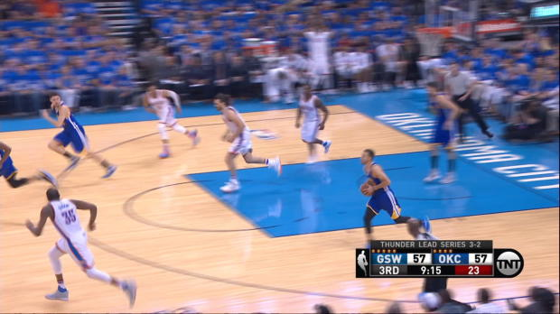Assist of the Night: Stephen Curry