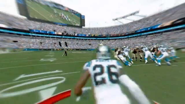freeD: Brandon Coleman fakes Panthers D for the TD