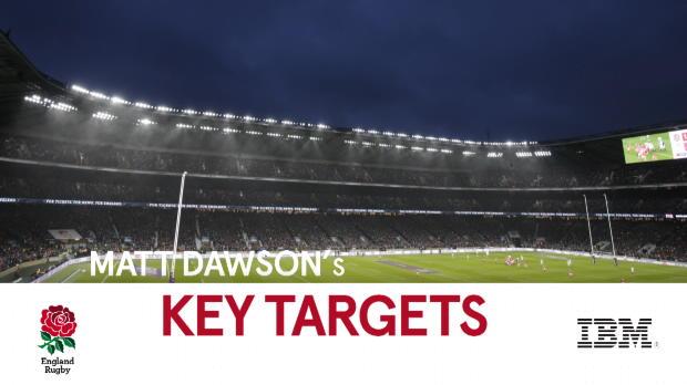 Aviva Premiership : Aviva Premiership - Rugby Insight - Matt Dawson's Key Targets - England v Ireland