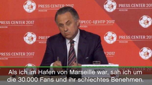 """FOOTBALL: FIFA Confederations Cup: Mukto: """"Marseille 2016 wird es nicht geben"""""""