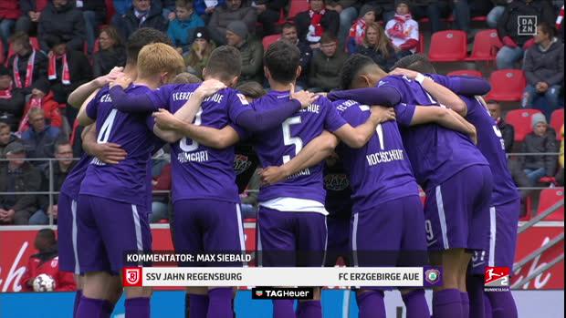 2. Bundesliga: SSV Jahn Regensburg - Erzgebirge Aue   DAZN Highlights