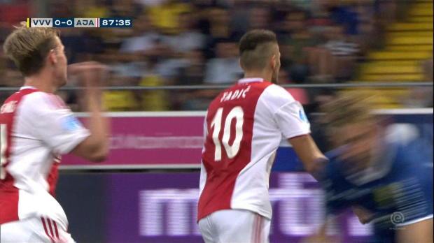Pays-Bas - L'Ajax s'impose grâce à la VAR