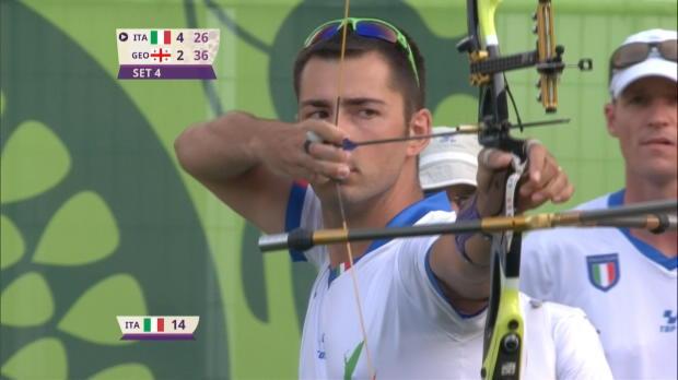 Italien siegt bei Premiere der Bogenschützen
