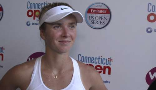 Svitolina Interview: WTA New Haven QF