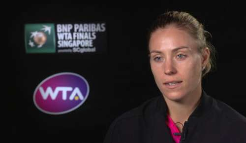Kerber Interview: WTA Singapore Final