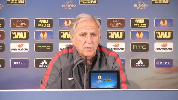 "Foot : L.Europa - Groupe H : Girard : ""Ne pas faire tourner en permanence"""