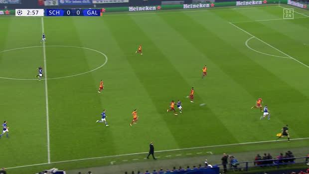 UEFA Champions League: FC Schalke 04 - Galatasaray   DAZN Highlights