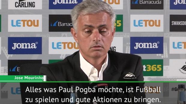 Mourinho: Pogba gefällt es, Qualität zu zeigen