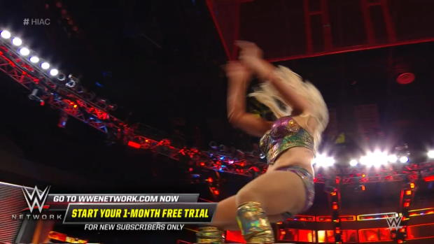 Charlotte Flair reverses Dis-arm-her with a vicious powerbomb: WWE Hell in a Cell 2018 (WWE Network Exclusive)