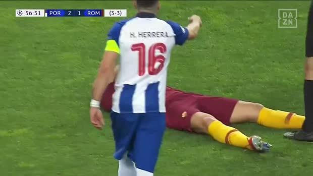 Schauspieleinlage von Edin Dzeko   Champions League Viral