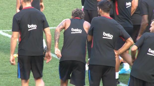 Trainingsverspätung! Nackenschelle für Neymar