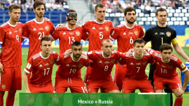 كرة قدم: كأس القارات: المكسيك × روسيا- إعداد أوبتا