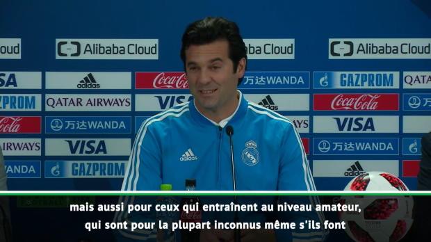 Real Madrid - Solari pas inquiet au sujet de la rumeur Mourinho