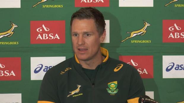 Four Nations - De Villiers - 'Mon dernier match en Afrique du Sud'