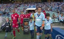 A dominant first half laid the platform for Adelaide United to claim a 3-0 victory over Sydney FC.